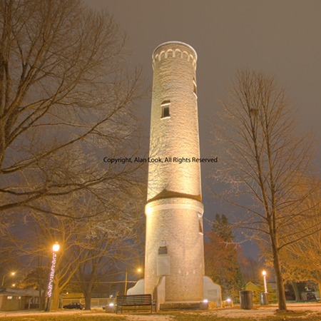 historic normal water tower image